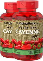 Красный стручковый перец, суперсильная концентрация, максимальная дозировка 100 Быстрорастворимые капсулы