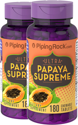 Papaya Pills 2 Bottles