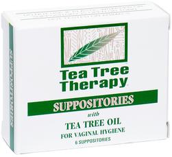 Suppositoires vaginaux à l'huile de théier 6 Suppositoires