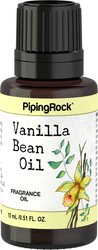 Vanilla Bean Fragrance Oil 1/2 oz (15 ml) Dropper Bottle