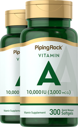 Vitamine A 300 Capsules molles à libération rapide