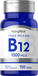 Vitamin B-12 Time Release 150 Tabletter