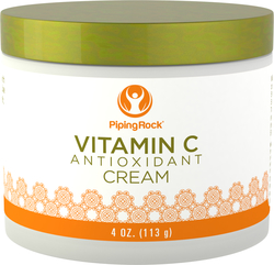 Crema rinnovante antiossidante alla vitamina C 4 oz (113 g) Vaso