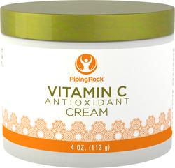 Krim Peremajaan Antioksidan Vitamin C 4 oz (113 g) Balang