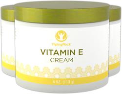 Creme de vitamina E 4 oz (113 g) Boião