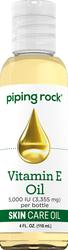 Olio per la pelle naturale con vitamina E pura  4 fl oz (118 mL) Bottiglia