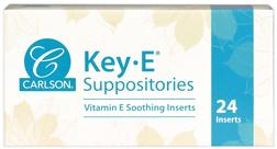 Vitamin E Suppositories  24 Inserts