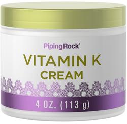 Creme de vitamina K 4 oz (113 g) Boião