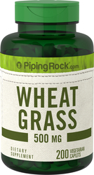 Wheat Grass 500 mg 200 Caplets