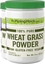 Wheat Grass Powder 2 Bottles x 8 oz (227 g)