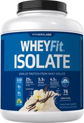 WheyFit Isolate (Valiant Vanilla), 5 lb