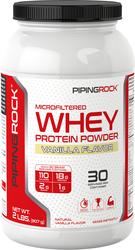 Weiproteïnepoeder (natuurlijke vanille) 2 lbs (907 g) size_units.unit.118