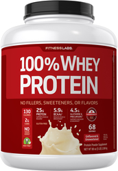 100% Whey Protein (Unflavored & Unsweetened), 5 lb