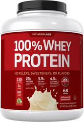 100%乳清蛋白(原味&無糖) 5 lb (2.268 kg) 酒瓶