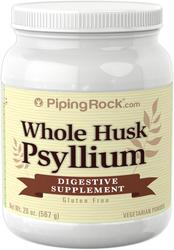 Cosses entières de psyllium 20 oz (567 g) Bouteille