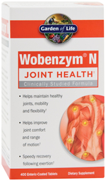 Wobenzym N, 400 Enteric Coated Tabs