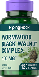 Wormwood Black Walnut Complex 400 mg 120 Capsules