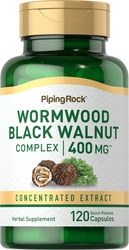 Wormwood Black Walnut Complex 400 mg 120 Capsules