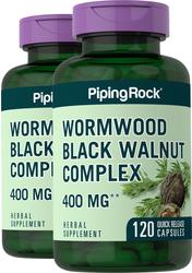 Absintalsem zwarte walnootcomplex 120 Snel afgevende capsules
