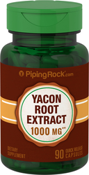 Yacon Root Extract 1000 mg Capsules 90