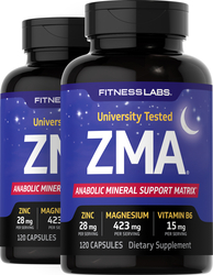 ZMA 120 Caps x 2 bottles